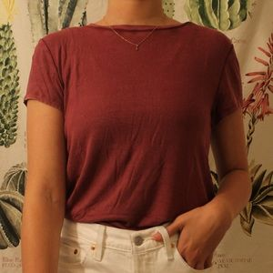American Eagle Ribbed Tee